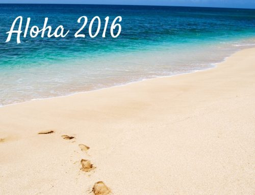 Aloha 2016! Goodbye Goal Setting?!?