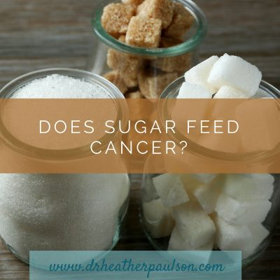 Does Sugar Feed Cancer?