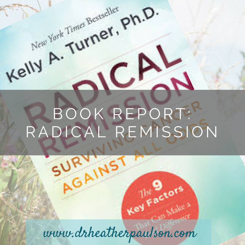 Book Report: Radical Remission