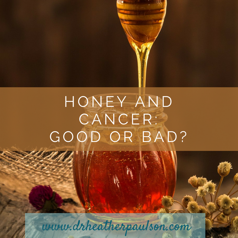 honey and cancer