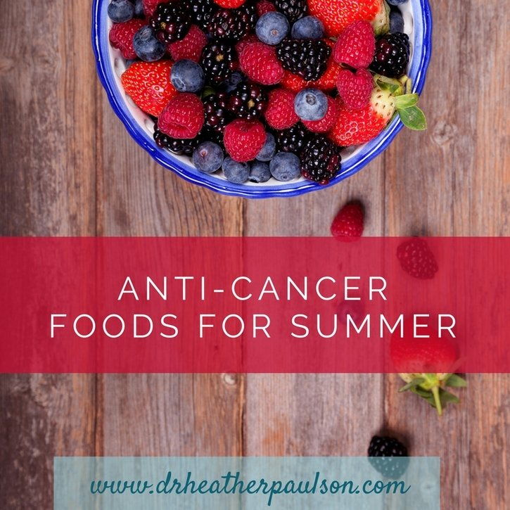 Eat Red, White and Blue: Anti-Cancer Foods for Your Summer Celebration
