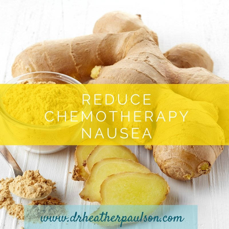 Reduce Chemotherapy Induced Nausea and Vomiting with Ginger