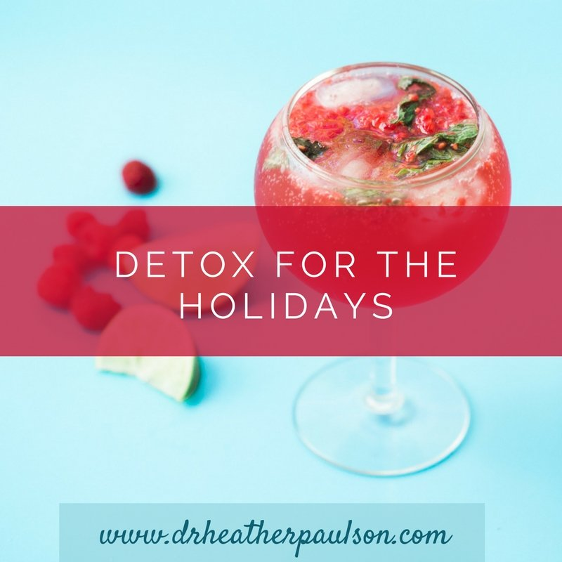 Join me for Detox for the Holidays