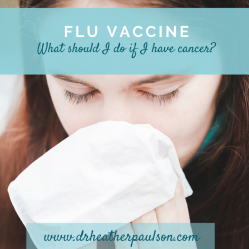 Should I get the Flu vaccine?